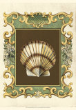 Mermaid's Shells IV Poster by Chariklia Zarris