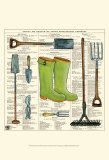 Garden Boots Posters par Ginny Joyner