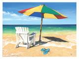 Surf, Sand, Summer! Poster by Scott Westmoreland