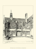 English Architecture VI Prints by Reginald Blomfield
