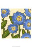Annie Blue II Print by Karen Deans