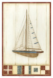 Americana Yacht I Posters by Ethan Harper
