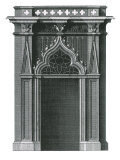Gothic Doorcase, 1741 Giclee Print by Batty Langley