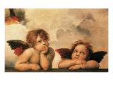 Sistine Madonna, 1500 Giclee Print