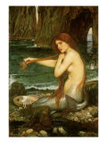 A Mermaid, 1901 Giclee Print