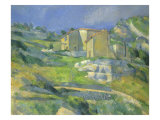 Houses in Provence, 1880 Giclee Print by Paul Cezanne