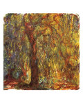 Weeping Willow, 1919 Giclee Print by Claude Monet