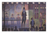 Circus Sideshow, 1887 Giclee Print by Georges Seurat