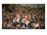 Assault on Pisa, 1565 Giclee Print by Giorgio Vasari