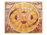 The Copernican System, 1543 Giclee Print by Andreas Cellarius