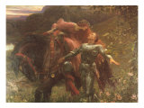 La Belle Dame Sans Merci Giclee Print by Sir Frank Dicksee