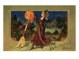 Halloween Dance Giclee Print