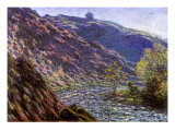 Bend in the River, 1888 Giclee Print by Claude Monet