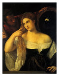 Woman at Her Toilet Giclee Print by  Titian