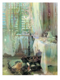 A Hotel Room, 1900 Giclee Print by John Singer Sargent