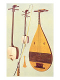 Japanese Instruments, 1888 Giclee Print by William Gibb