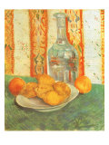 Lemons and Decanter, 1887 Giclee Print by Vincent van Gogh
