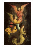 Choir of Angels, 1459 Giclee Print by Simon Marmion