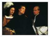The Concert, 1512 Giclee Print by  Titian