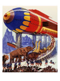 Sci Fi - Futuristic Noah's Ark, 1939 Giclee Print by Howard V. Brown