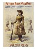 Annie Oakley, 1890 Giclee Print