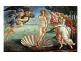 The Birth of Venus, 1484 Lámina giclée por Sandro Botticelli