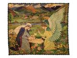 St. Bride, 1913 Giclee Print by John Duncan