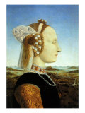 Portrait of Duchess, 1465 Giclee Print by  Piero della Francesca