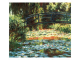 Water Lily Pond, 1900 Giclee Print by Claude Monet