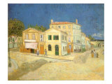 Vincent's House at Arles, 1888 Giclee Print by Vincent van Gogh