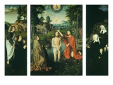 Baptism of Christ, 1505 Giclee Print by Gerard David
