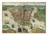 Constantinople 1572 Giclee Print
