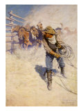Above the Sea of Round, 1904 Giclee Print by Newell Convers Wyeth