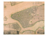 Manhattan 1844 Giclee Print