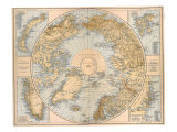 North Polar Region, 1897 Giclee Print