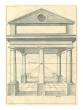 View of Roman Portico, 1751 Giclee Print by Henricus Hondius