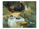 The Luncheon, 1876 Giclee Print by Claude Monet