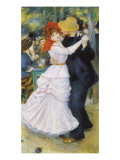 Dance at Bougival, 1883 Reproduction proc&#233;d&#233; gicl&#233;e par Pierre-Auguste Renoir