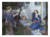 The Annunciation, 1914 Giclee Print by John William Waterhouse