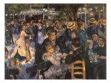 Le Moulin De La Galette, 1876 Giclee Print by Pierre-Auguste Renoir