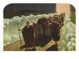 Crossing the Red Sea, 1943 Giclee Print