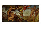 The Fall of Man, 1509 Giclee Print by  Michelangelo Buonarroti