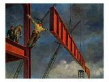 Steel Construction, 1935 Giclee Print