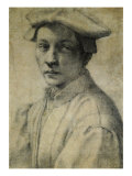 Quaratesi Portrait Giclee Print by  Michelangelo Buonarroti