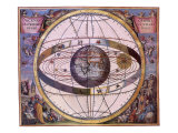 Celestial Chart, 1661 Giclee Print by Andreas Cellarius