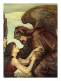 Angel of Death, 1890 Giclee Print by Evelyn De Morgan