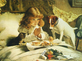 Suspense, 1894 Giclee Print by Charles Burton Barber