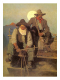 The Pay Stage, 1909 Giclee Print by Newell Convers Wyeth