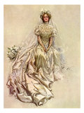 Pensive Bride, 1908 Giclee Print by Harrison Fisher