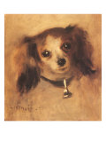 Head of a Dog, 1870 Giclee Print by Pierre-Auguste Renoir